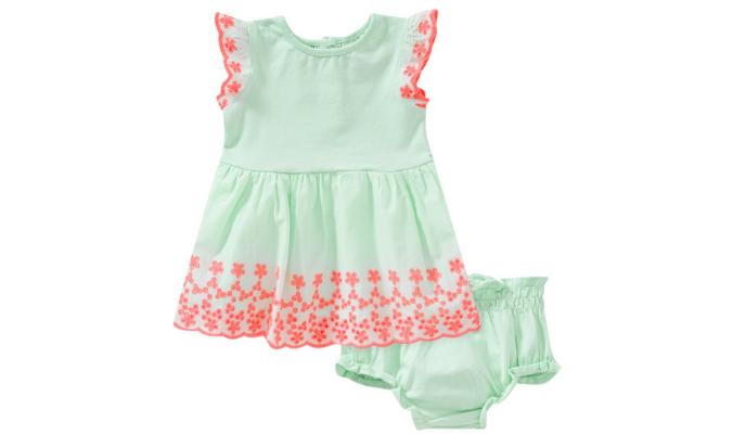 Newborn Kleid und Höschen im Set