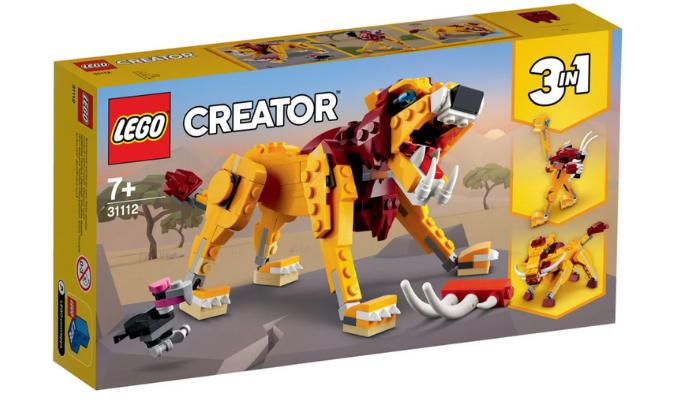 LEGO® Creator 31112 »Wilder Löwe«