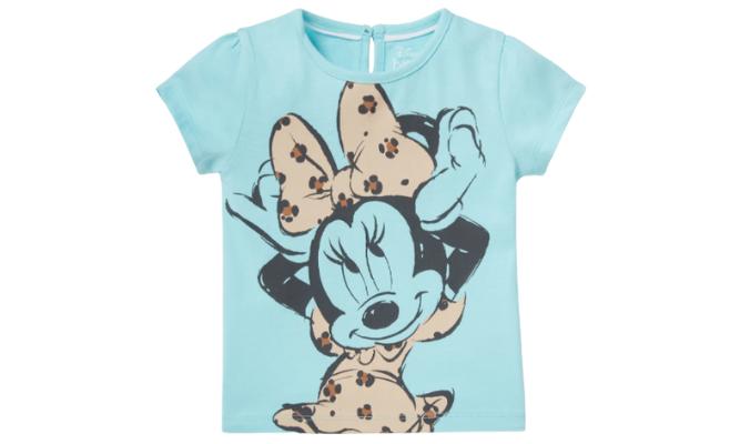 Minnie Maus - Baby-Kurzarmshirt