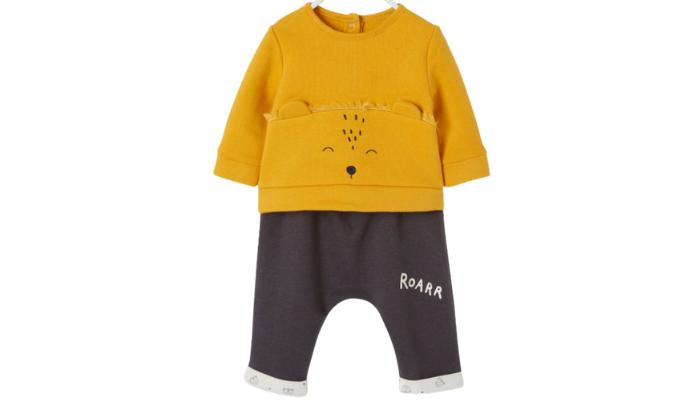 Baby Set aus Sweatshirt und Hose