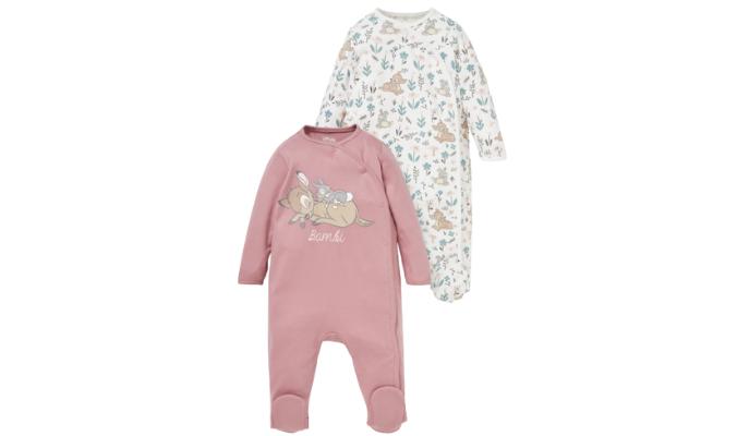 Multipack 2er - Disney - Baby-Schlafanzug