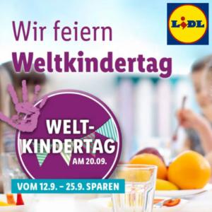 Weltkindertag bei LIDL
