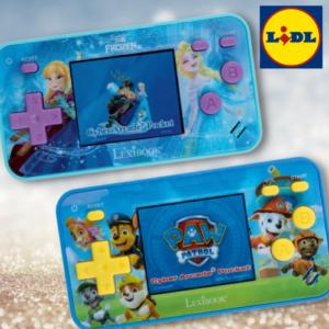Für 17,99€ Kinderspielekonsole bei LIDL