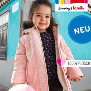 Ab 4,99€ Kinder Herbstmode bei Ernsting's Family