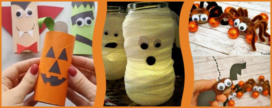 Banner: Die 10 coolsten Bastelideen für Halloween