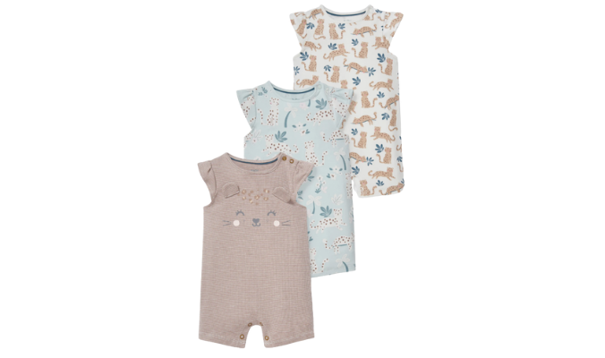Multipack 3er - Baby-Schlafanzug