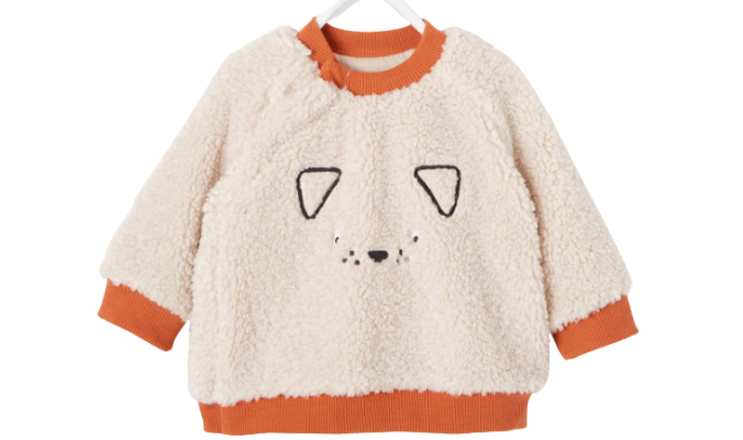 Baby Sweatshirt, Teddyfleece