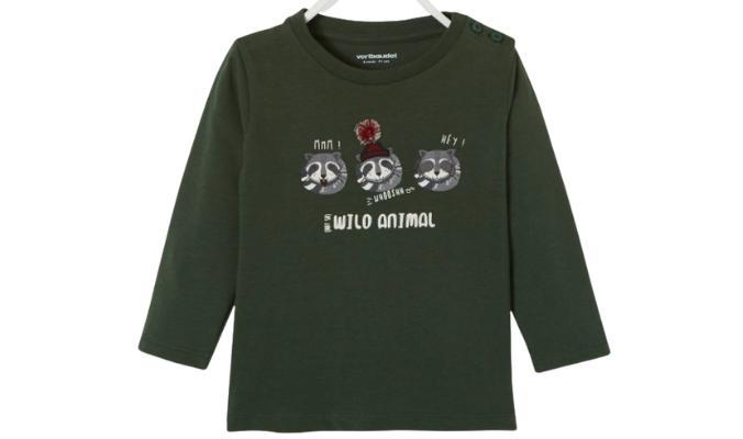 Baby Shirt - dunkelkhaki