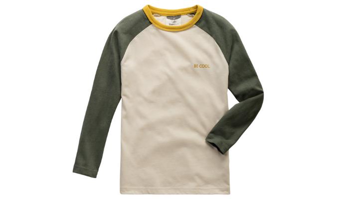 Langarmshirt im Retro-Stil