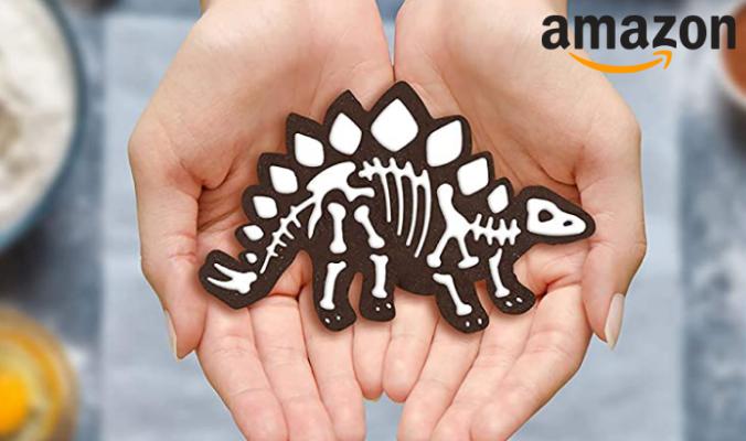 Dinosaurier Skelett Ausstechformen Set