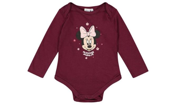 Baby Langarmbody - Minnie Mouse