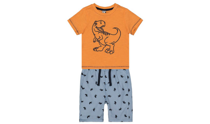 Baby Set aus T-Shirt und Hose