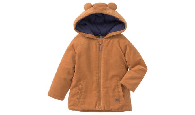 Newborn Jacke aus feinem Cord