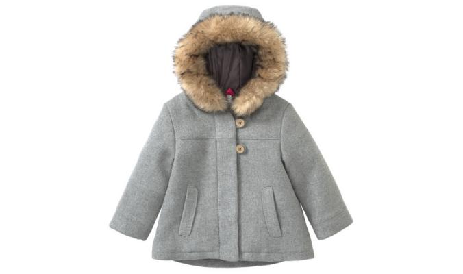 Baby Mantel mit Kapuze