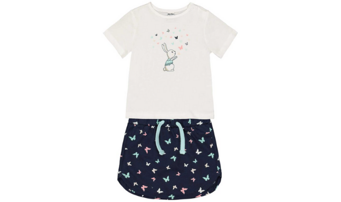 Mädchen Pyjama-Set