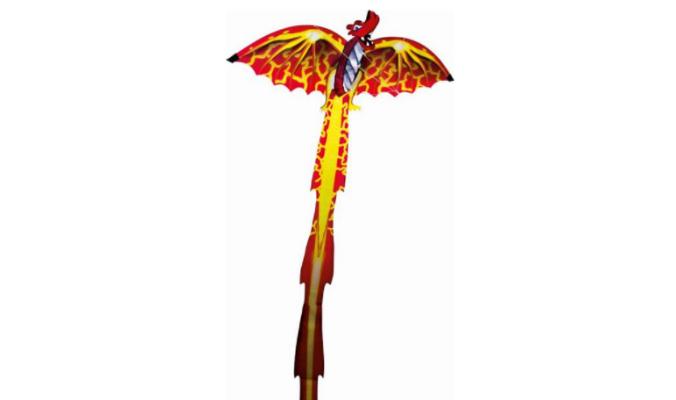 Dragon 3D Kinderdrachen, 102 x 320 xm