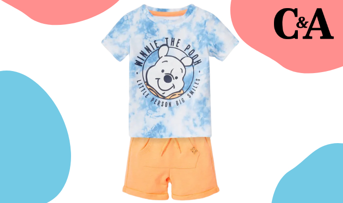 Winnie Puuh Baby Outfit