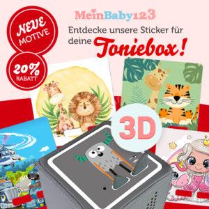 Nur 6,99€ Toniebox Schutzfolien + neue Designs