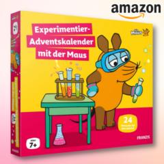 Experimentier-Adventskalender 2021 mit der Maus