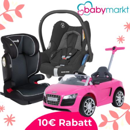 10€ Rabattcode für babymarkt