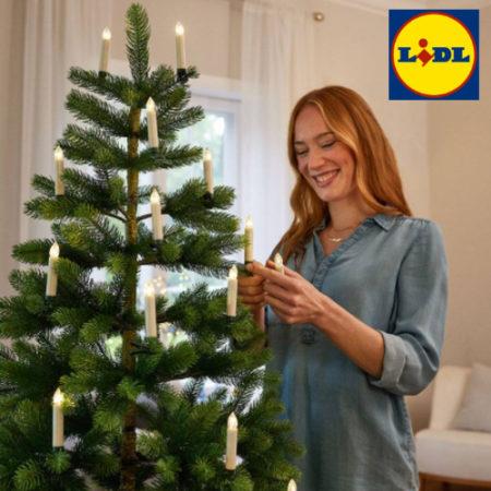 Weihnachsdeko bei LIDL