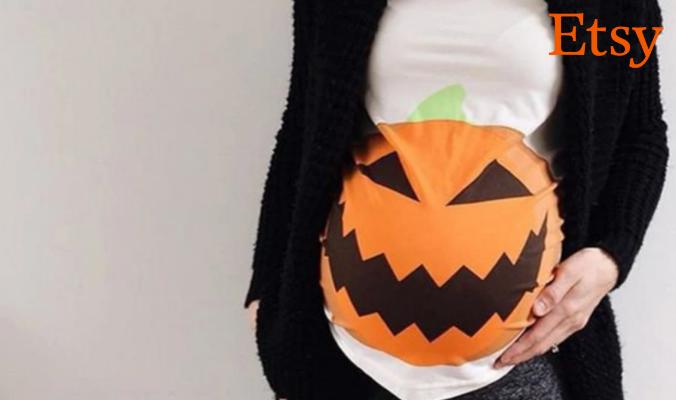 Halloween Schwangerschaftsshirt