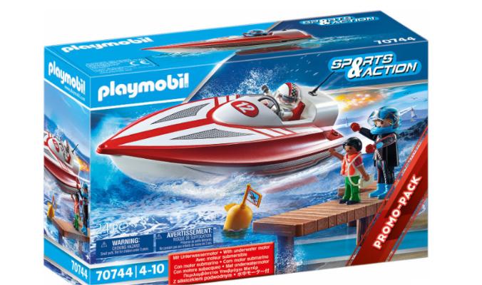 PLAYMOBIL® 70744 Speedboot mit Unterwassermotor
