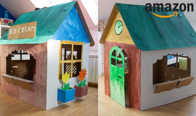 Papphaus zum bemalen