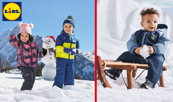 Wintersportmode LIDL