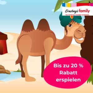 Bis 20%: Jetzt Rabatte erspielen bei Ernstings Family